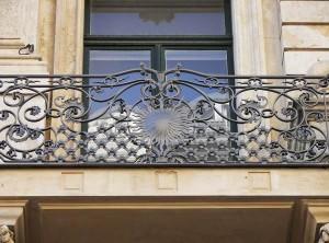geschmiedeter Balkon (2)