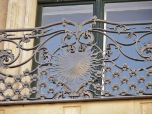 geschmiedeter Balkon