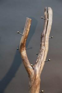 Holz Garderobe (3)