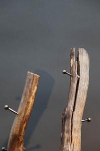 Holz Garderobe (4)