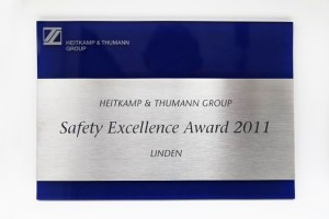 Safety Award 2011 (2)
