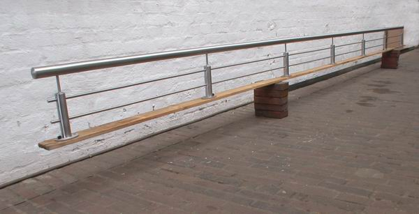 Absturzsicherung Geländer absturzsicherung aus edelstahl metallgestaltung