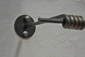 Garderobe Stahl geschmiedet (3)