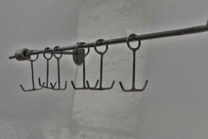 Garderobe Stahl geschmiedet (6)