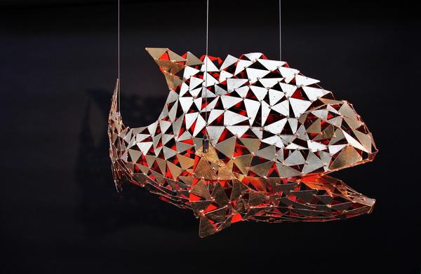 goldfisch metallgestaltung. Black Bedroom Furniture Sets. Home Design Ideas