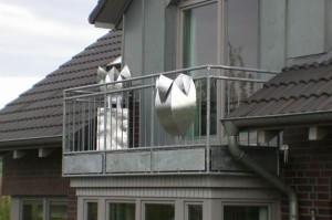 Gefäße aus verzinktem Stahl (2)