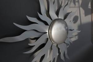 Sonne aus Edelstahhl (3)