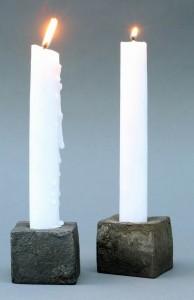 Kerzenleuchter geschmiedet