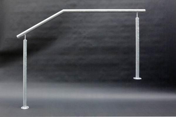 treppengel nder aus edelstahl verzinkt metallgestaltung. Black Bedroom Furniture Sets. Home Design Ideas