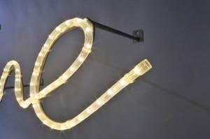 Welcome mit LED Lichtschlauch (3)