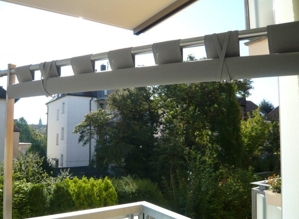 paravent mit stoffbespannung für den balkon | metallgestaltung, Garten und Bauen