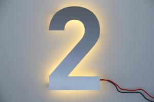 LED Hausdnummer (2)