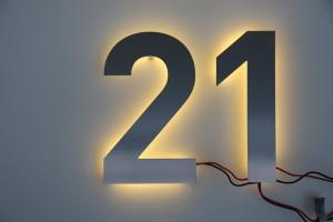 LED Hausnummer (1)