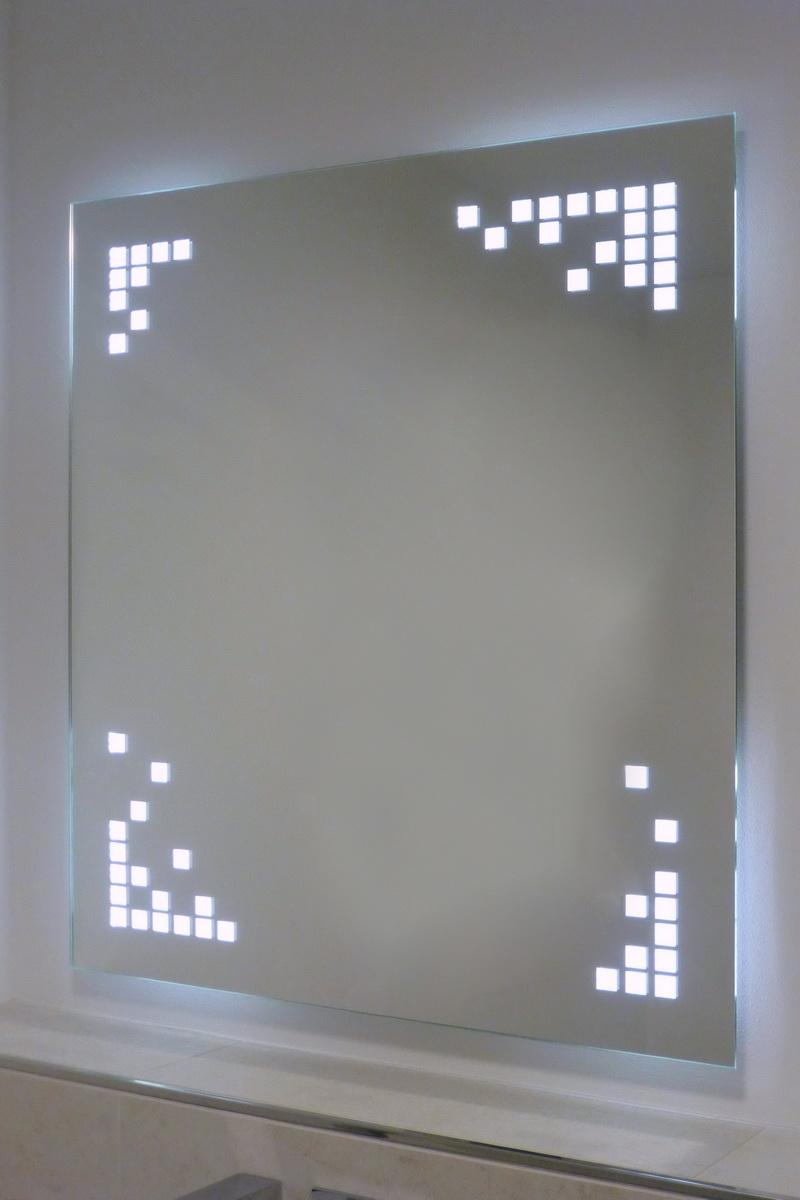 Astreiner spiegel mit led beleuchtung metallgestaltung for Spiegel mit led