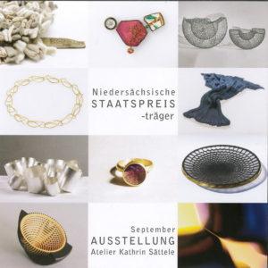 Niedersächsischer Staatspreis Einladung
